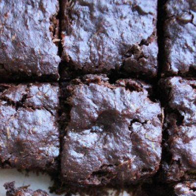 Brownies aux courgettes