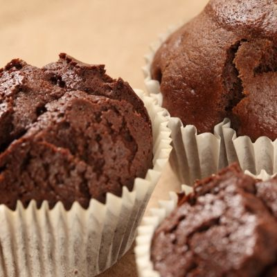 Muffins chocolat, citron et thé vert