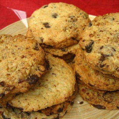 Cookies aux grains de café au chocolat noir