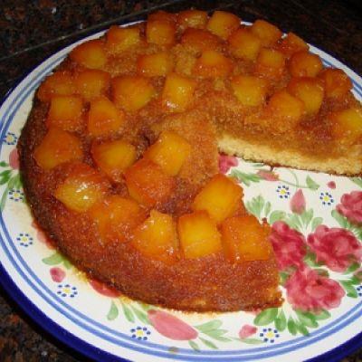 Cake à l'ananas et au rhum