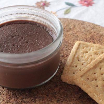 Crème au chocolat (sans oeufs)