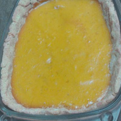 Tarte citron gingembre